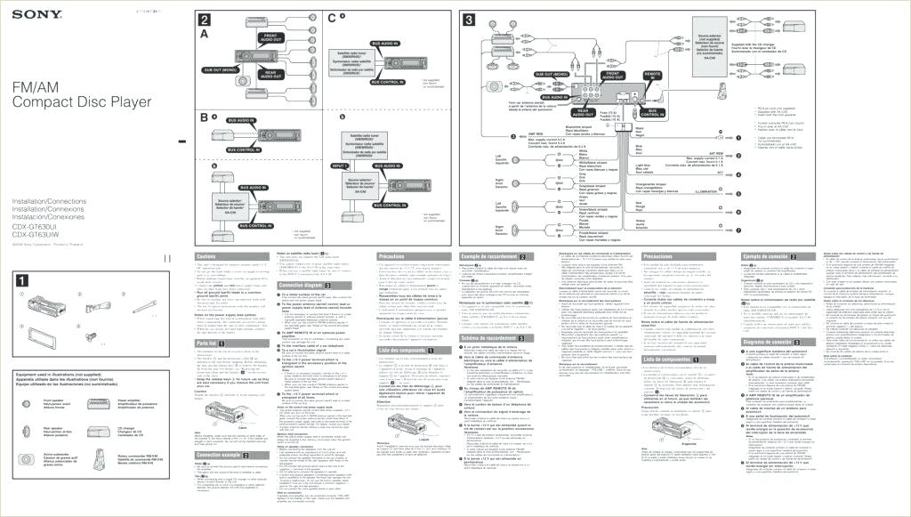 oz8584 sony cdx gt500 wiring diagram wiring diagram