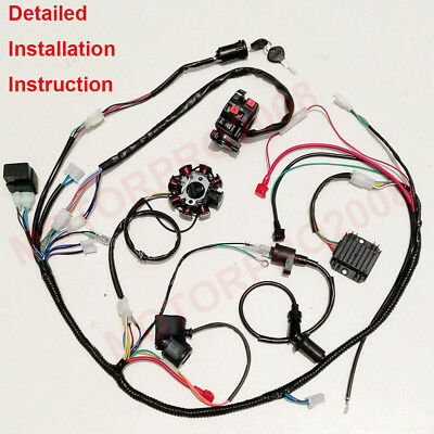 wiring harness kit for atv 150cc wiring harness wiring diagram data  150cc wiring harness wiring diagram data