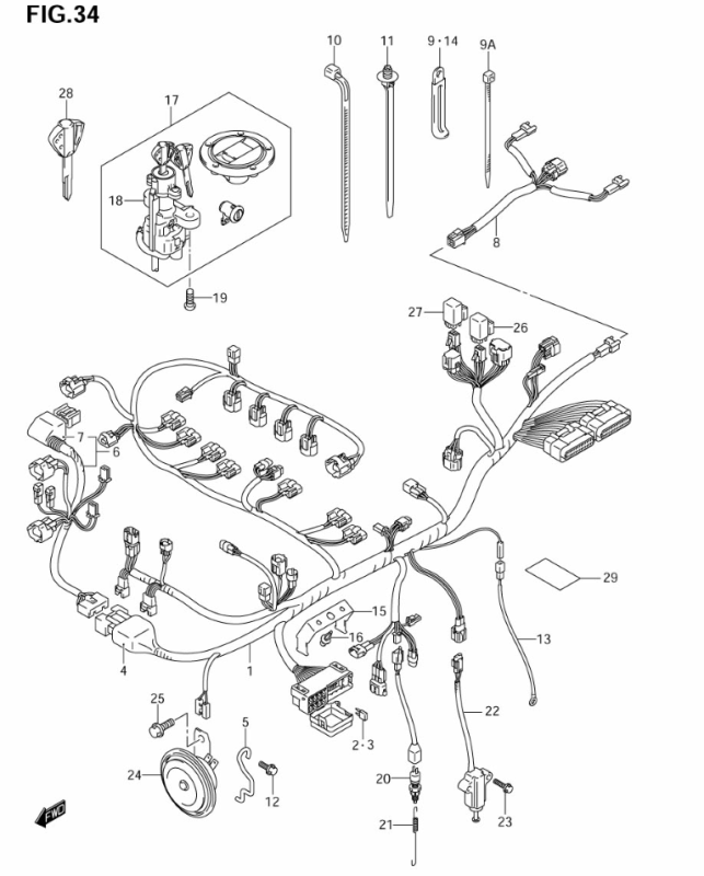 gsxr 1000 wiring diagram - Wiring Diagram and Schematic