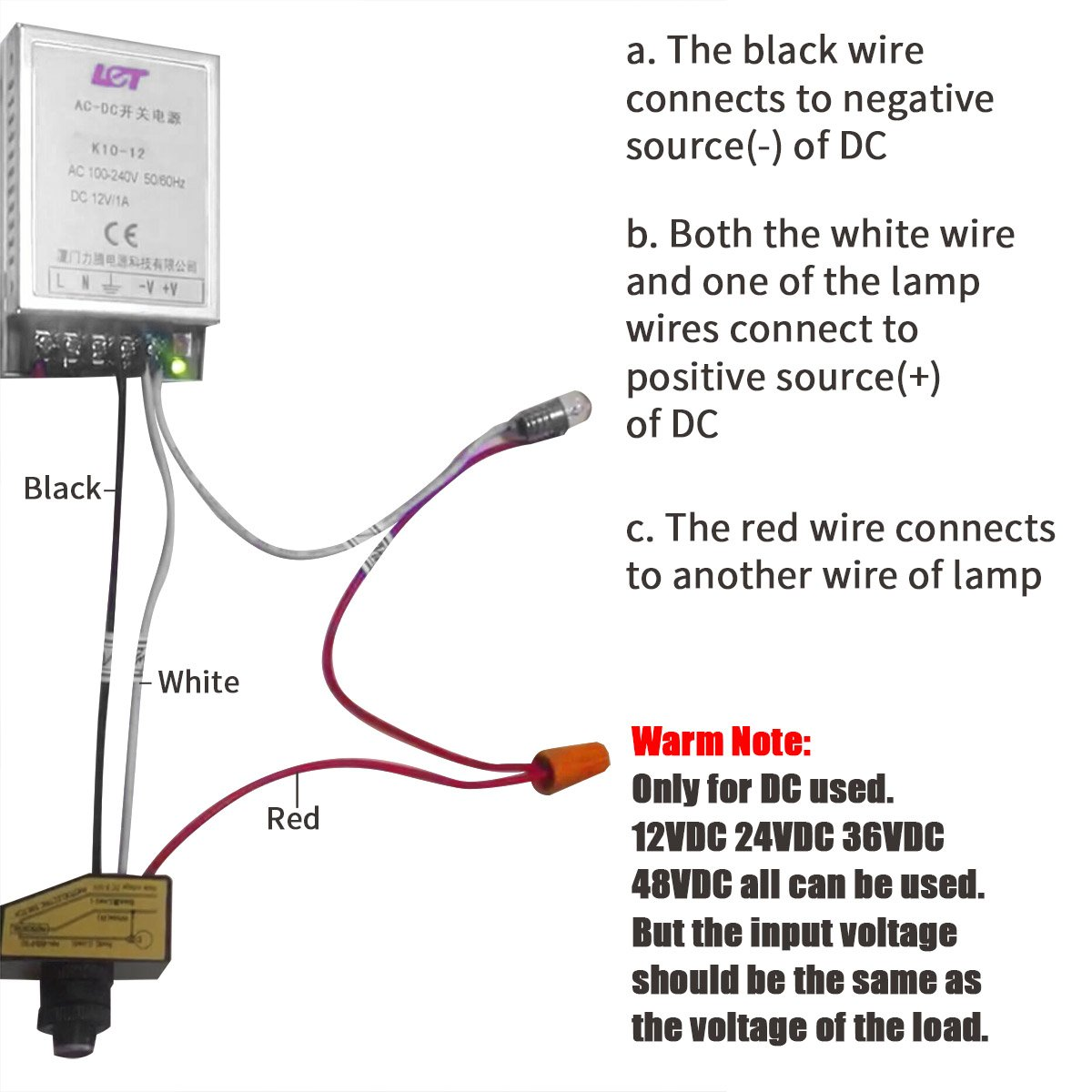 Te 6226 12 Volt Photocell Switch Wiring Diagram Wiring Diagram