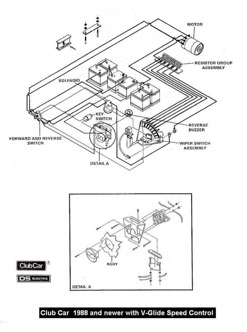 Ob 4285 Ez Go Golf Cart Wiring Diagram