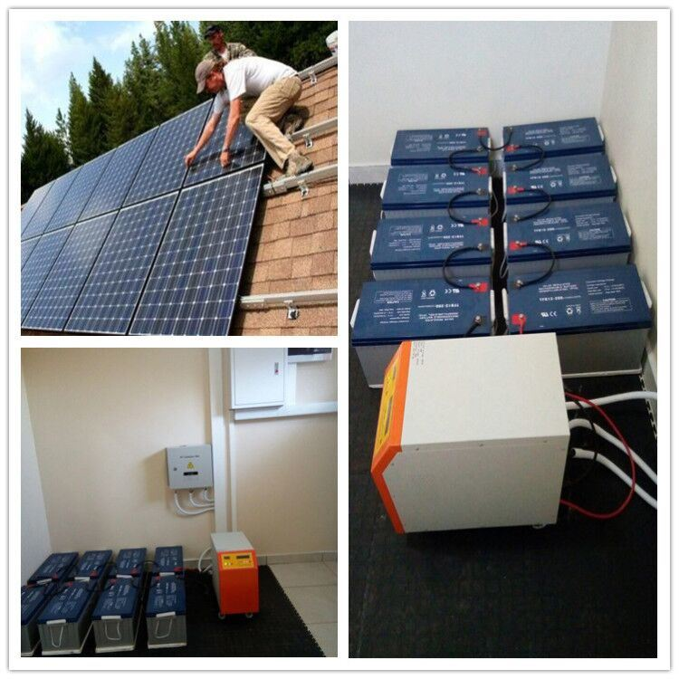 Pleasant China Install Support 5Kw 10Kw Solar Power System Battery Storage Wiring Cloud Histehirlexornumapkesianilluminateatxorg
