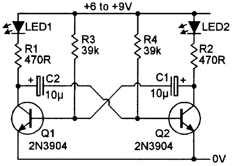 Tremendous Practical Led Indicator And Flasher Circuits Nuts Volts Magazine Wiring Cloud Onicaxeromohammedshrineorg