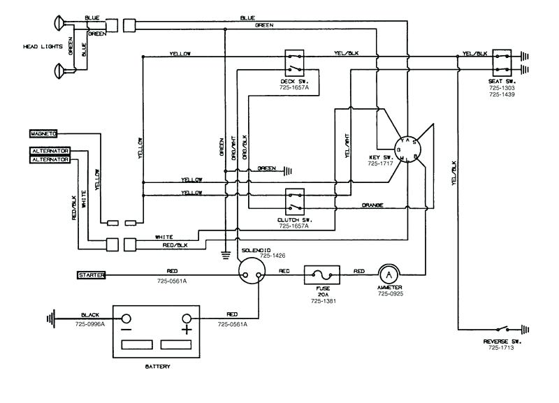 zr7019 riding lawn mower solenoid wiring diagram as well