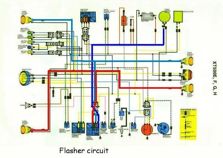 yamaha xt 550 wiring diagram yv 0918  1976 yamaha 500 xt wiring diagram free diagram  1976 yamaha 500 xt wiring diagram free