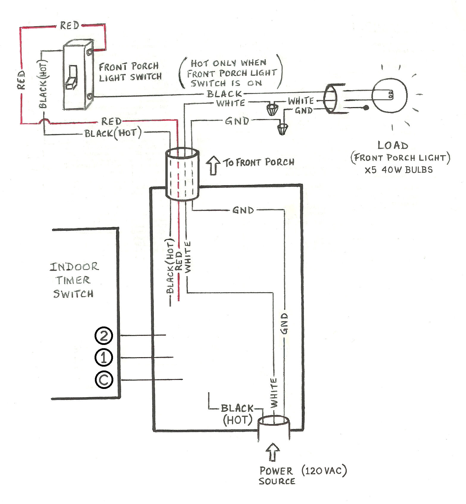 Magnificent Need Help Wiring A 3 Way Honeywell Digital Timer Switch Home Wiring Cloud Rineaidewilluminateatxorg