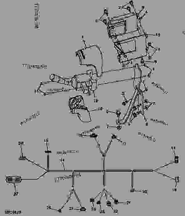 John Deere 4310 Wiring Schematic