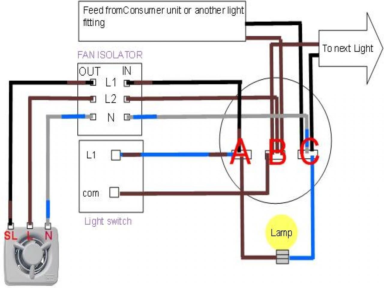 Broan Range Hood Fan Wiring Diagram