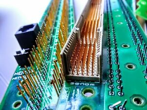 Pleasant 5 Lbs Of Vintage Circuit Boards Pin Boards Gold Plated Pins Scrap Wiring Cloud Filiciilluminateatxorg