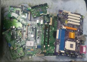Peachy 000 23 Pounds Motherboards Computer Cards Green Boards Scrap Gold Wiring Cloud Lukepaidewilluminateatxorg