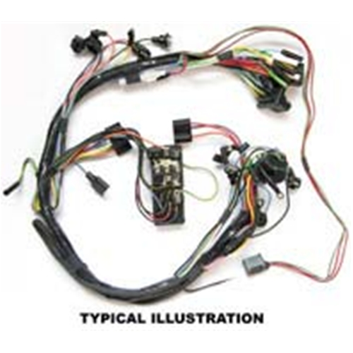 Stupendous Wiring Harness Under Dash 1964 Ford Falcon With 1 Speed Windshield Wiring Cloud Uslyletkolfr09Org