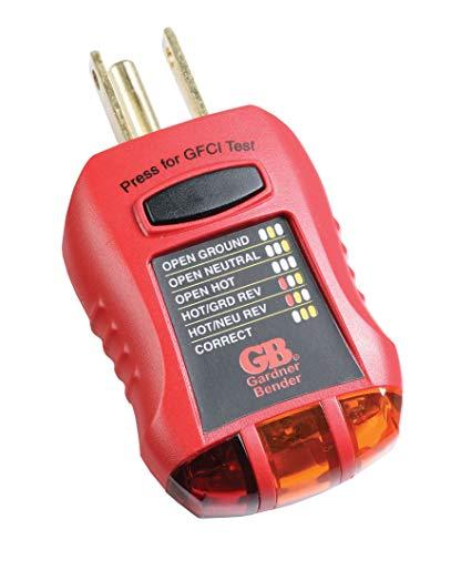 Enjoyable Gardner Bender Gfi 3501 Ground Fault Receptacle Tester Circuit Wiring Cloud Mousmenurrecoveryedborg