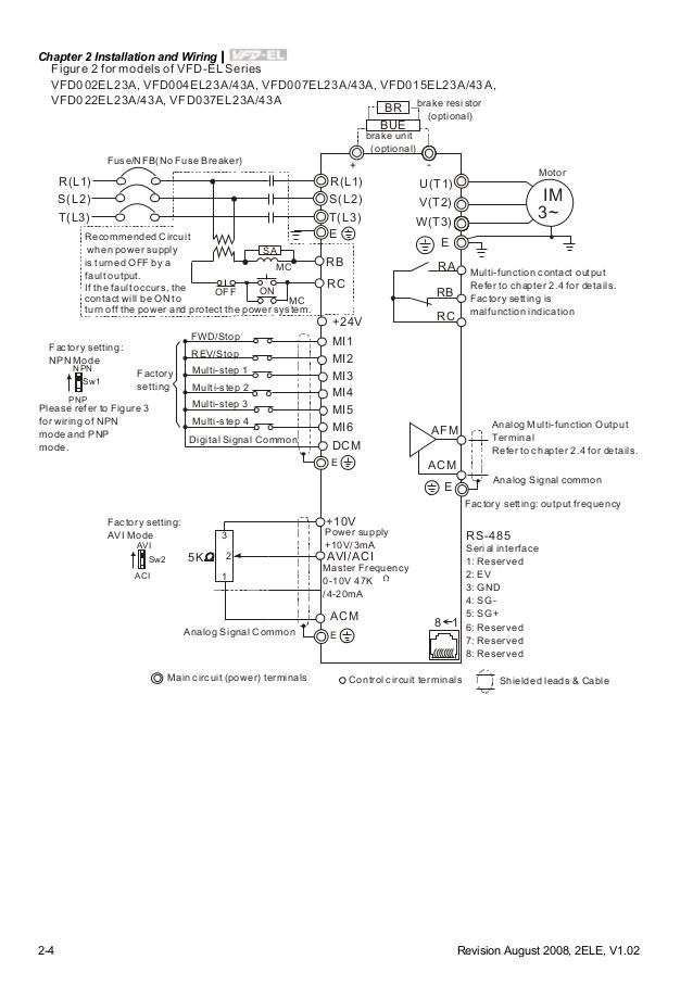 Do 6724 Delta Vfd B Series Standard Wiring Diagram Philippines Schematic Wiring