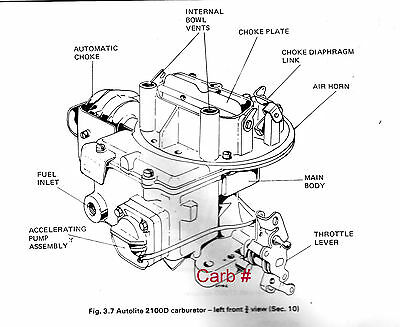 Pleasant Electric Choke Kit Ford Motorcraft 2100 2150 2 Barrel Carburetor Wiring Cloud Hemtegremohammedshrineorg