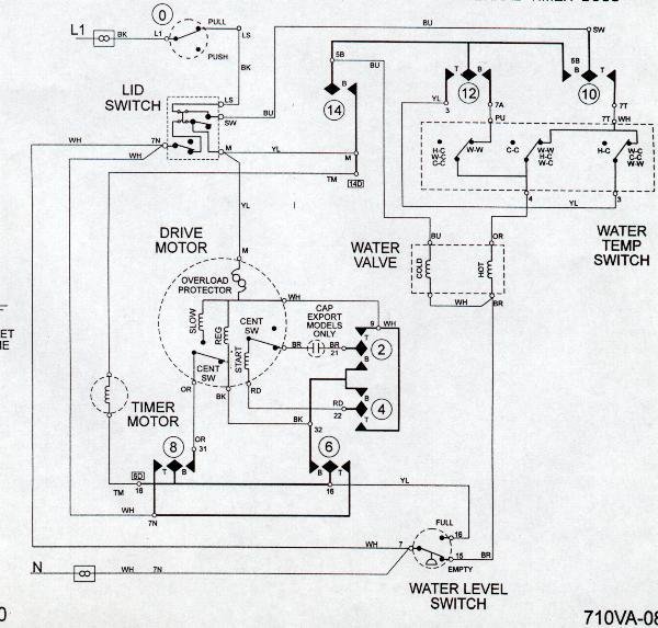 VS_6805] Wiring Diagram Ge Washer Gfwn1000Lww Schematic Wiring