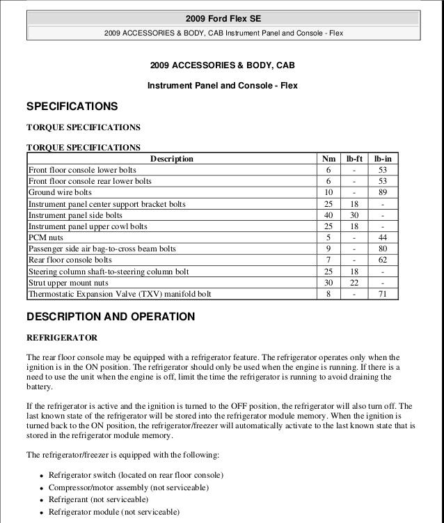 Ford Flex Wiring Diagram Database