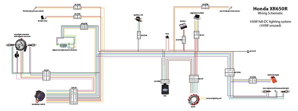 Honda Xr 650 Wiring Diagram