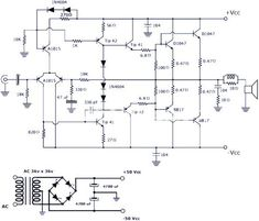 Awesome 50W Power Amplifier With Ic Tda7294 Circuit Diagram Electronic Circuit Wiring Cloud Grayisramohammedshrineorg