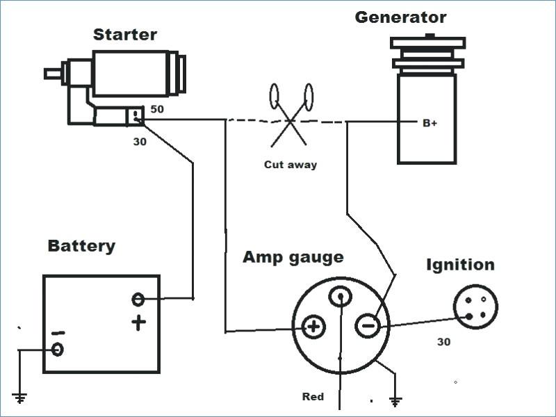 gm ammeter wiring diagram  description wiring diagrams www