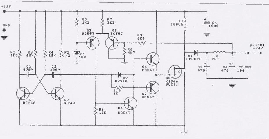 [DIAGRAM_4PO]  SM_8046] 12V To 24V Dc Dc Converter Electronic Circuits And Diagram | 12 Volt Dc To 24 Volt Dc Wiring Diagram |  | Www Mohammedshrine Librar Wiring 101