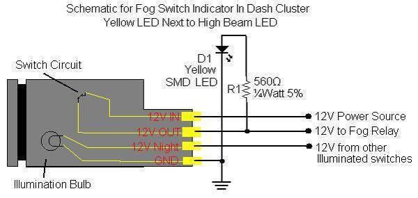 Tremendous How To Build Fog Lamp Switch Circuit Basic Electronics Wiring Diagram Wiring Cloud Counpengheilarigresichrocarnosporgarnagrebsunhorelemohammedshrineorg
