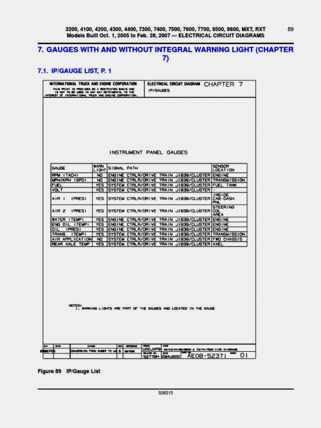 2005 International 4300 Radio Wiring Diagram