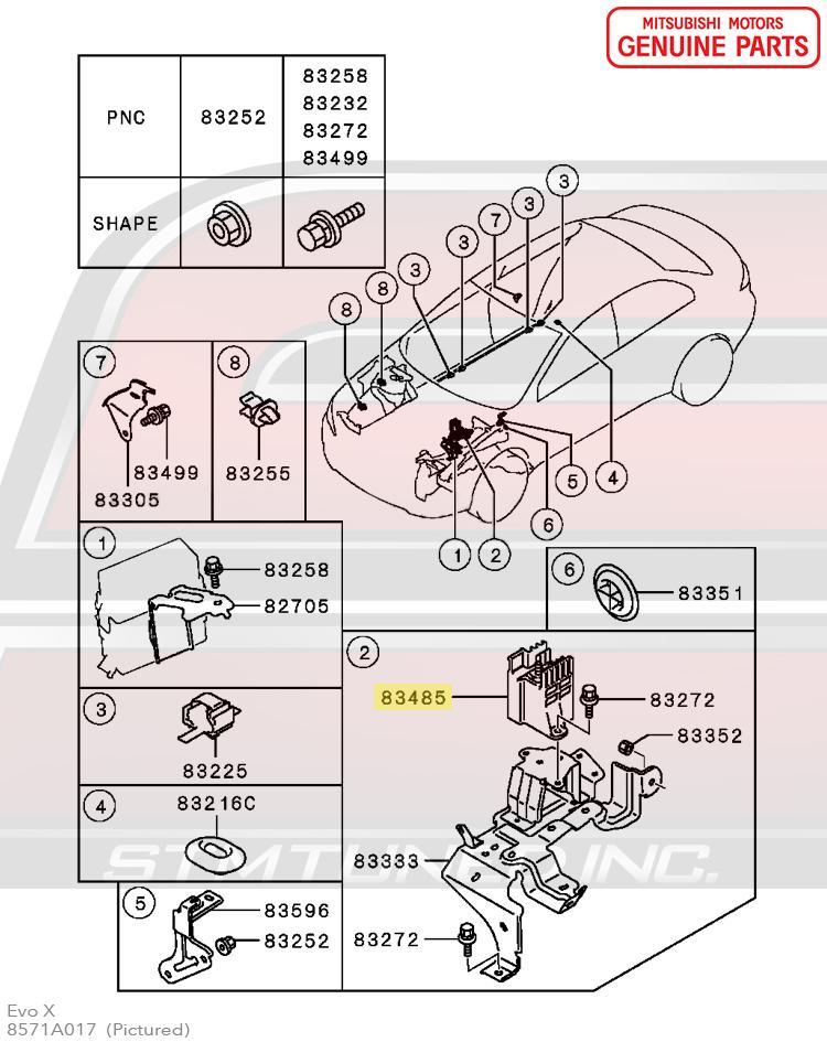 Evo X Headlight Wiring Diagram 7 Blade Trailer Wiring Diagram Brake Furnaces Yenpancane Jeanjaures37 Fr