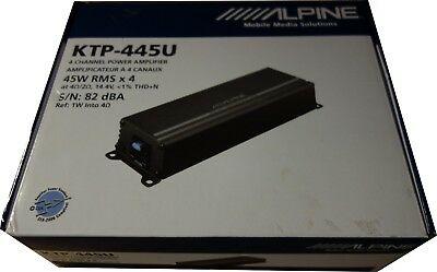 Cw 3079 Alpine Ktp 445u Universal Power Pack 4 Channel Car