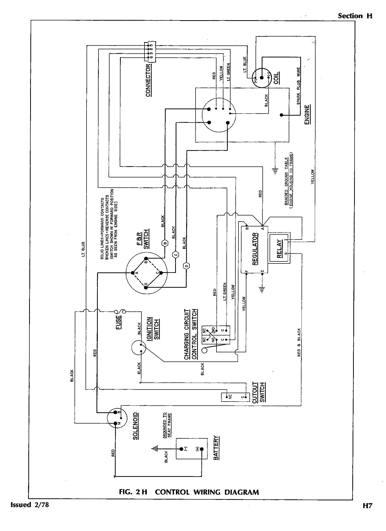 94 Ezgo Gas Wiring Diagram