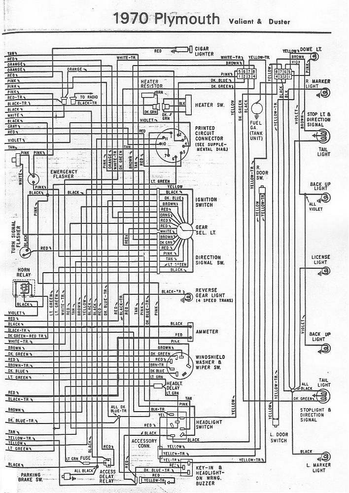 Yt 5375 1970 Plymouth Belvedere Wiring Diagram Color Wiring Diagram