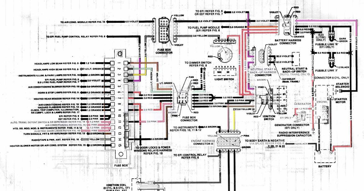 Vl Commodore Engine Wiring Diagram