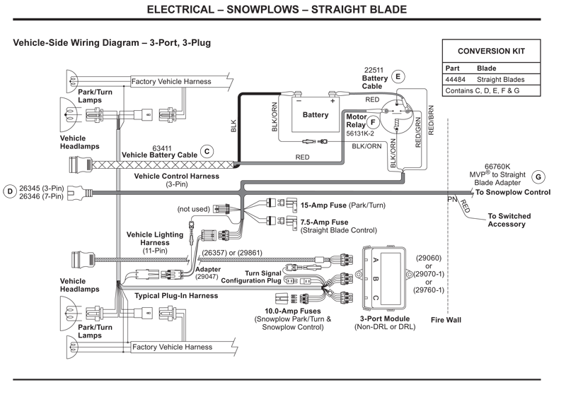 Plow Wiring Diagram For Dual Battery