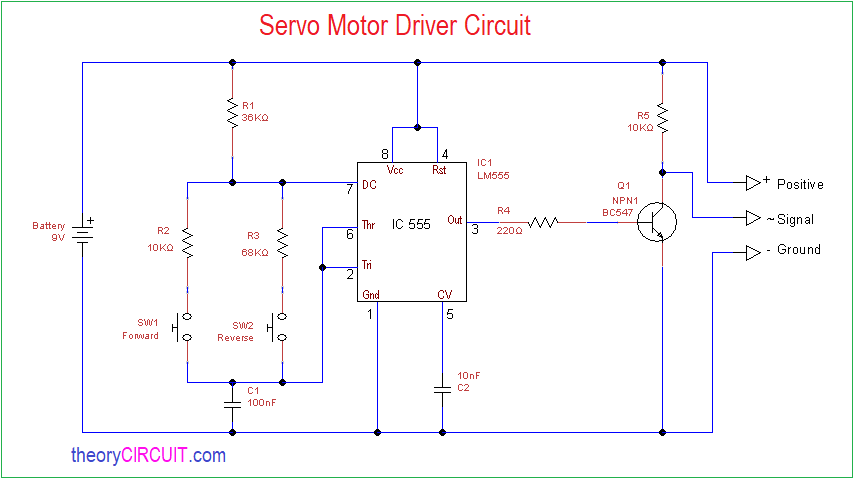 Super Servo Motor Driver Circuit Wiring Cloud Onicaxeromohammedshrineorg