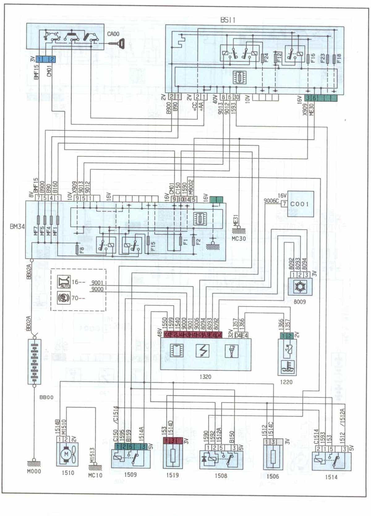 1993 Winnebago Brave Wiring Diagram