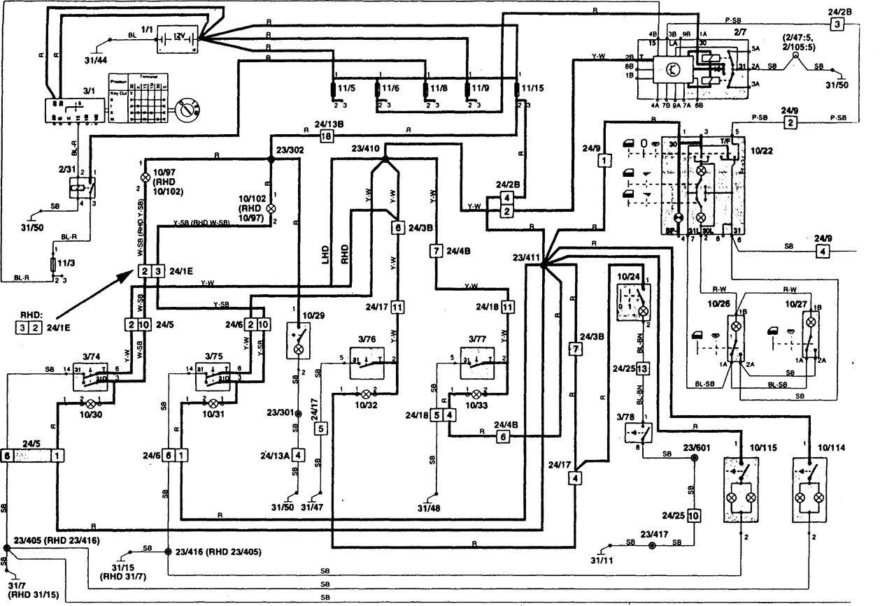 volvo 850 radio wiring harness diagram fc 4454  volvo 850 ecu wiring diagram  fc 4454  volvo 850 ecu wiring diagram