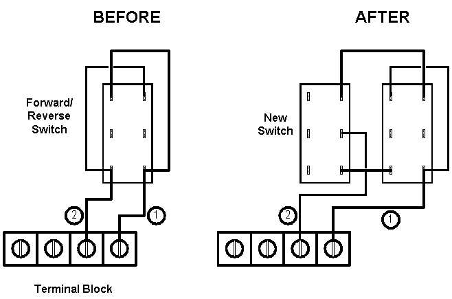 Reversing Drum Switch Wiring Diagram