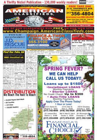 Super American Classifieds Champaign March 19 2009 By American Wiring Cloud Vieworaidewilluminateatxorg