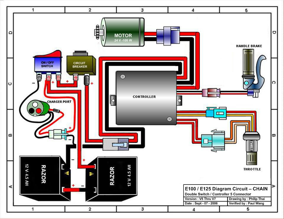 rascal 305 scooter wiring diagram intercom wiring diagram