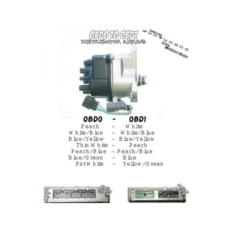 Obd0 To Obd1 Alternator Wiring Diagram