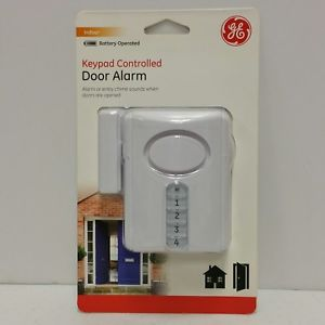 Fine Ge Keypad Controlled Entry Door Alarm Or Chime Programmable 4 Digit Wiring Cloud Rineaidewilluminateatxorg