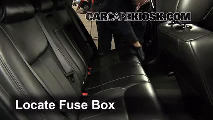 Excellent Interior Fuse Box Location 2006 2011 Cadillac Dts 2009 Cadillac Wiring Cloud Uslyletkolfr09Org