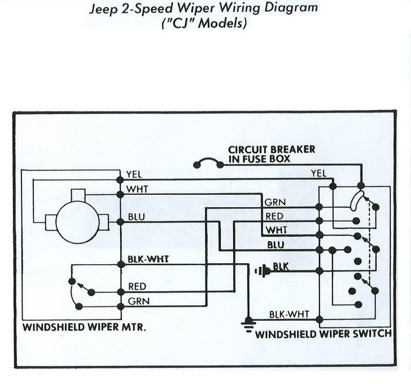 jeep cj7 wiper wiring diagram  coachman caravan wiring