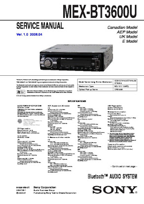 Tremendous Mex Bt3600U Service Manual Wiring Cloud Timewinrebemohammedshrineorg