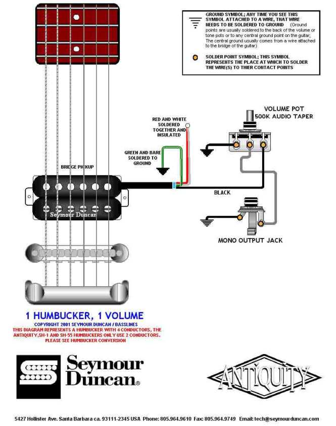Seymour Duncan Little 59 Tele Wiring Diagram