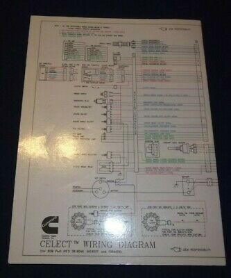 rw5423 cummins n14 ecm wire diagram wiring diagram
