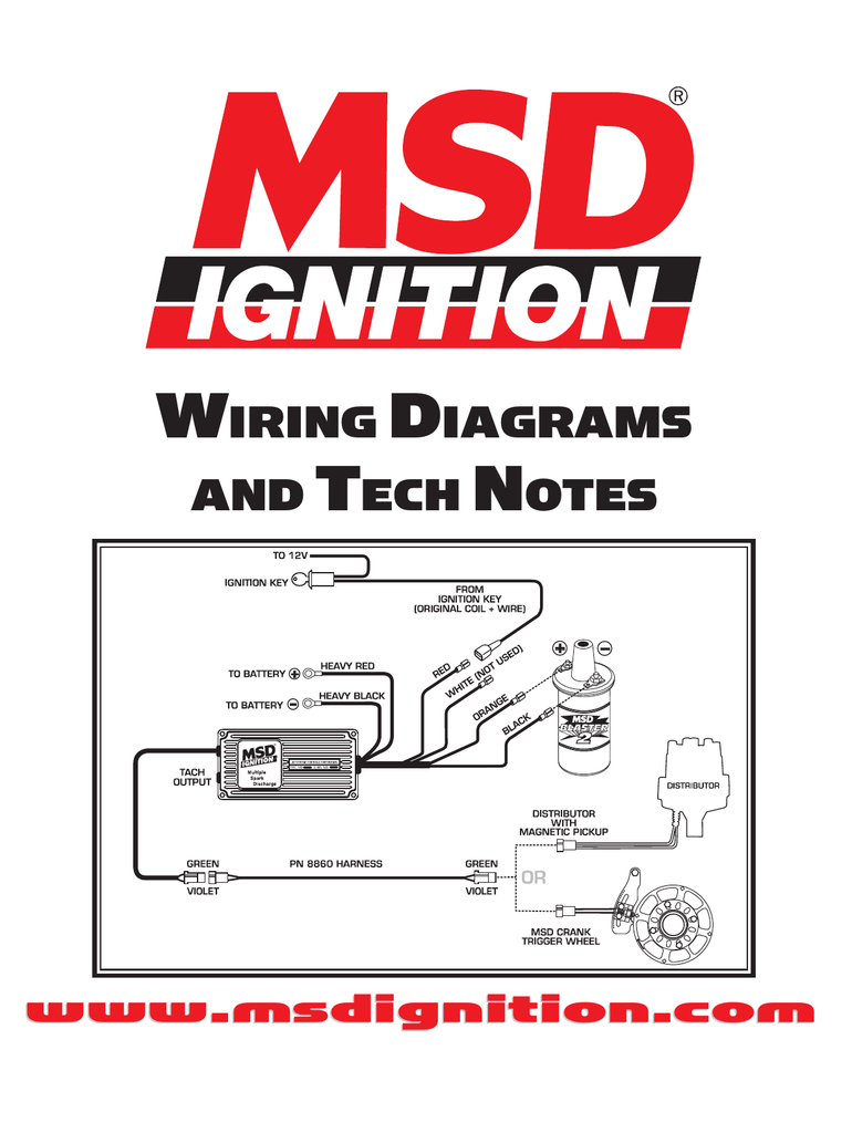 Magnificent Msd 8365 Distributor This Diagram Would Also Work For The 5462 To A Wiring Cloud Itislusmarecoveryedborg