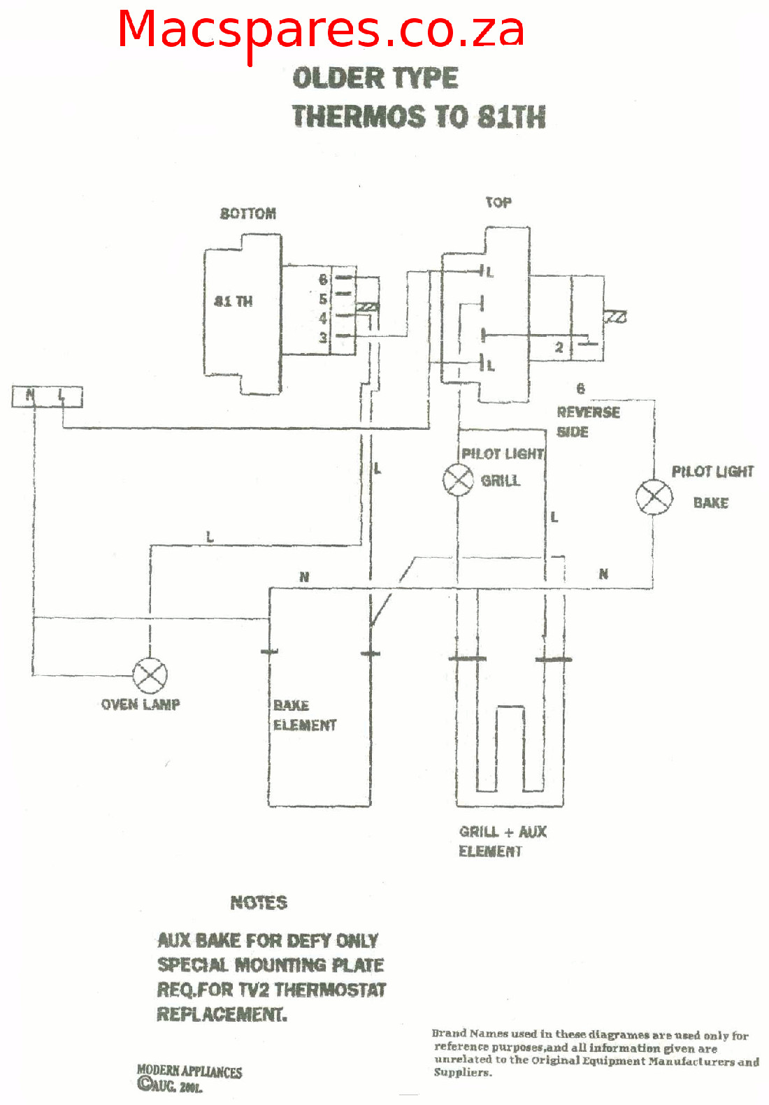 Robertshaw Hot Water Thermostat Wiring Diagram