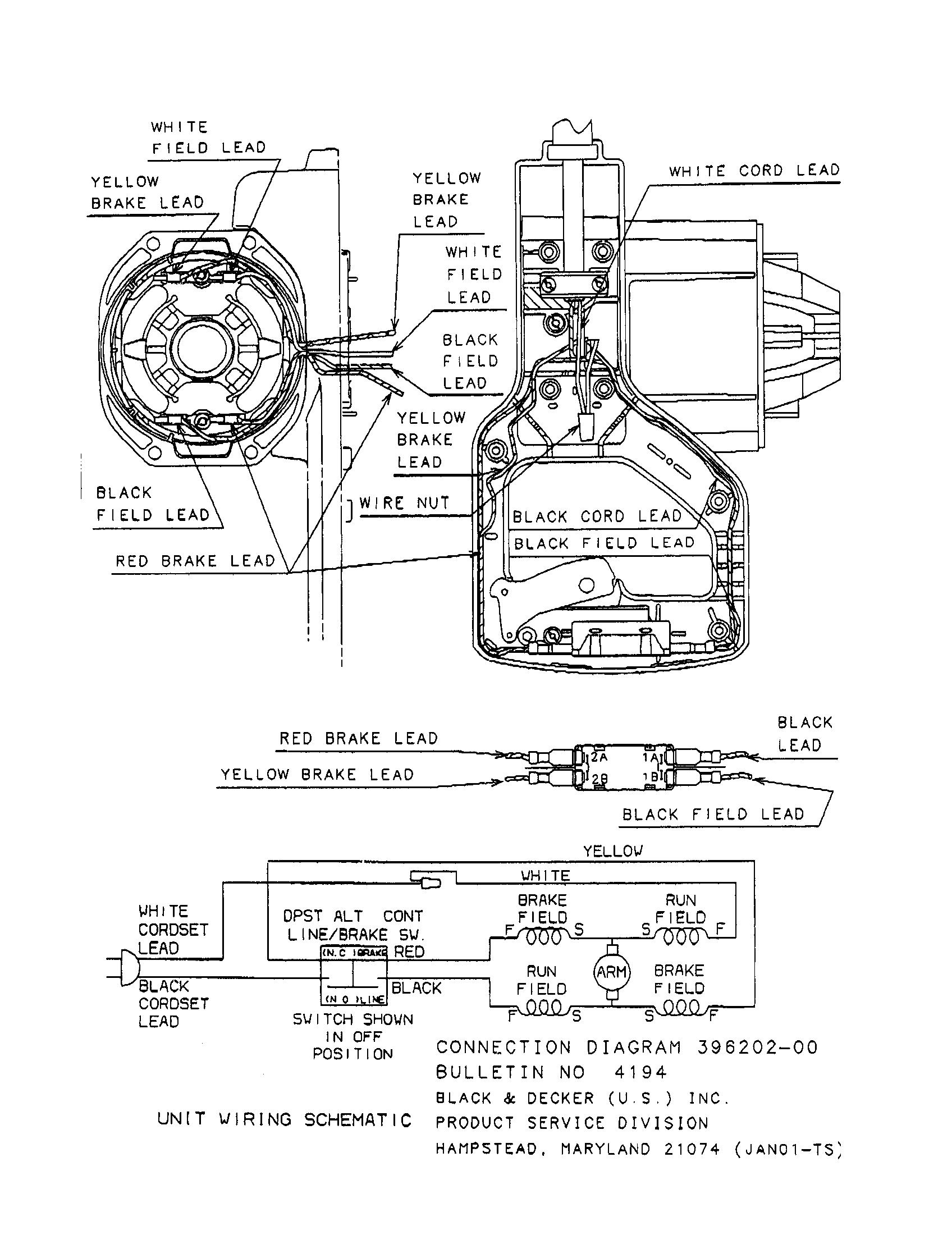 NV_7522] Dw268 De Walt Wiring Diagrams Free Diagram