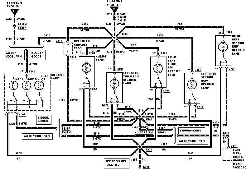 1999 ford windstar light wiring diagram  wiring diagram