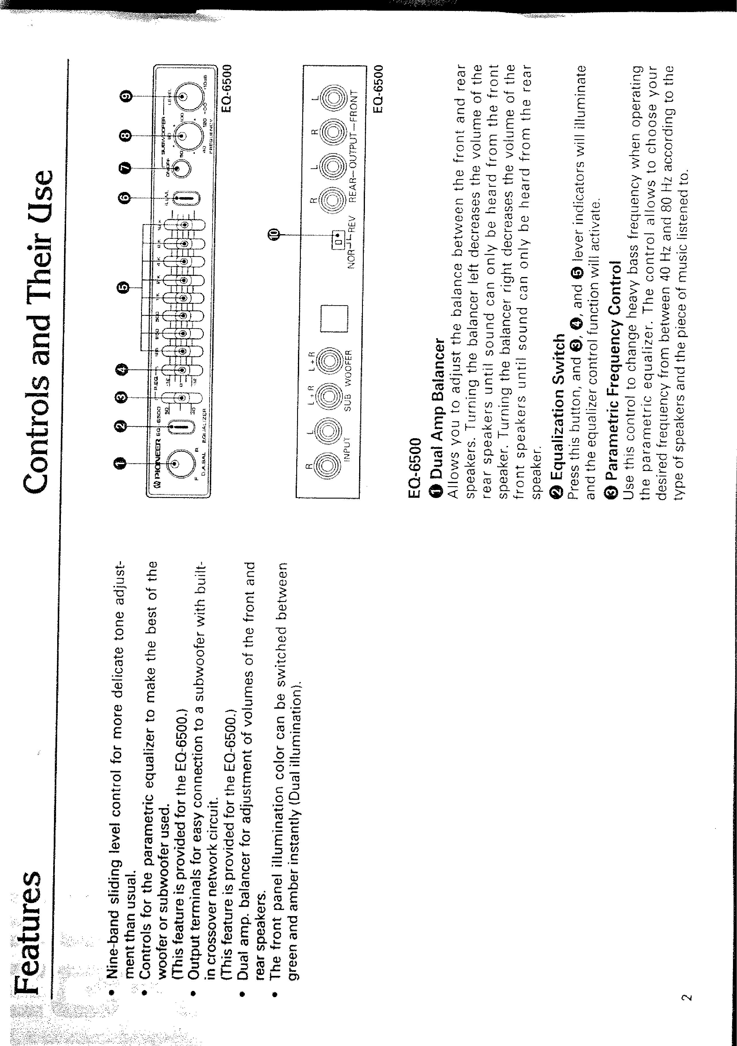 Pioneer Eq 6500 Plug Wiring Diagram